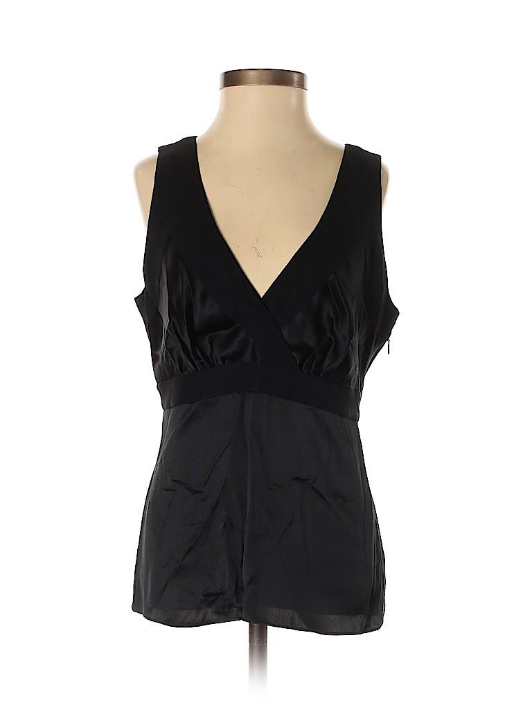 Banana Republic Women Sleeveless Silk Top Size 2