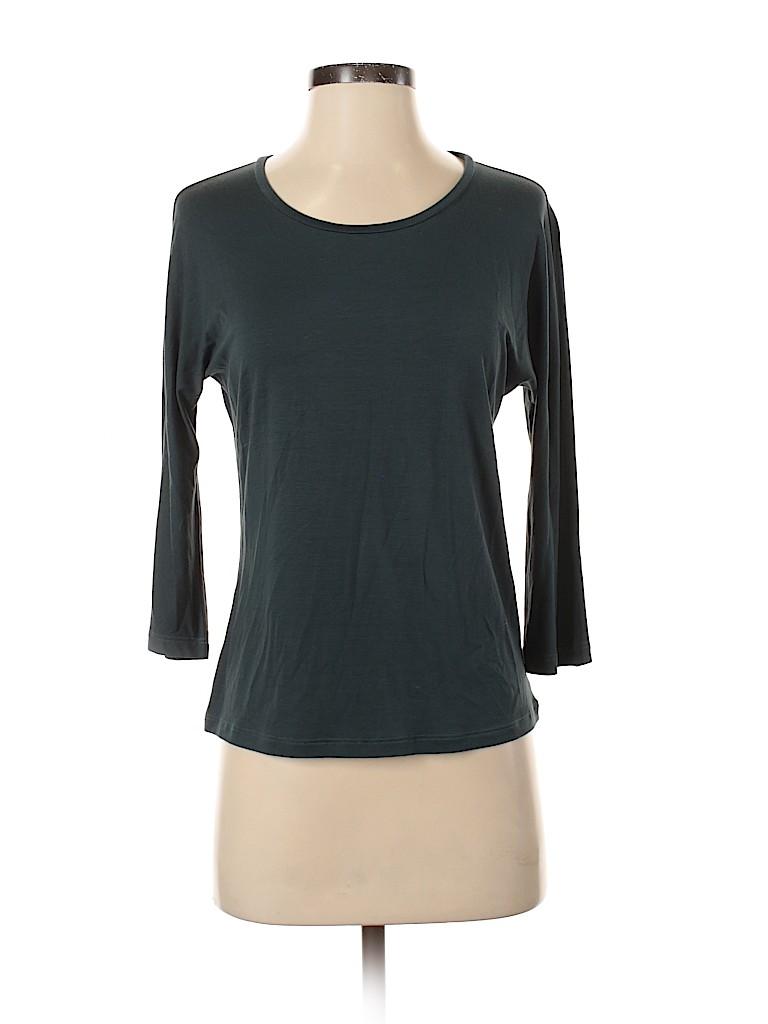 Max Mara Women 3/4 Sleeve Top Size M