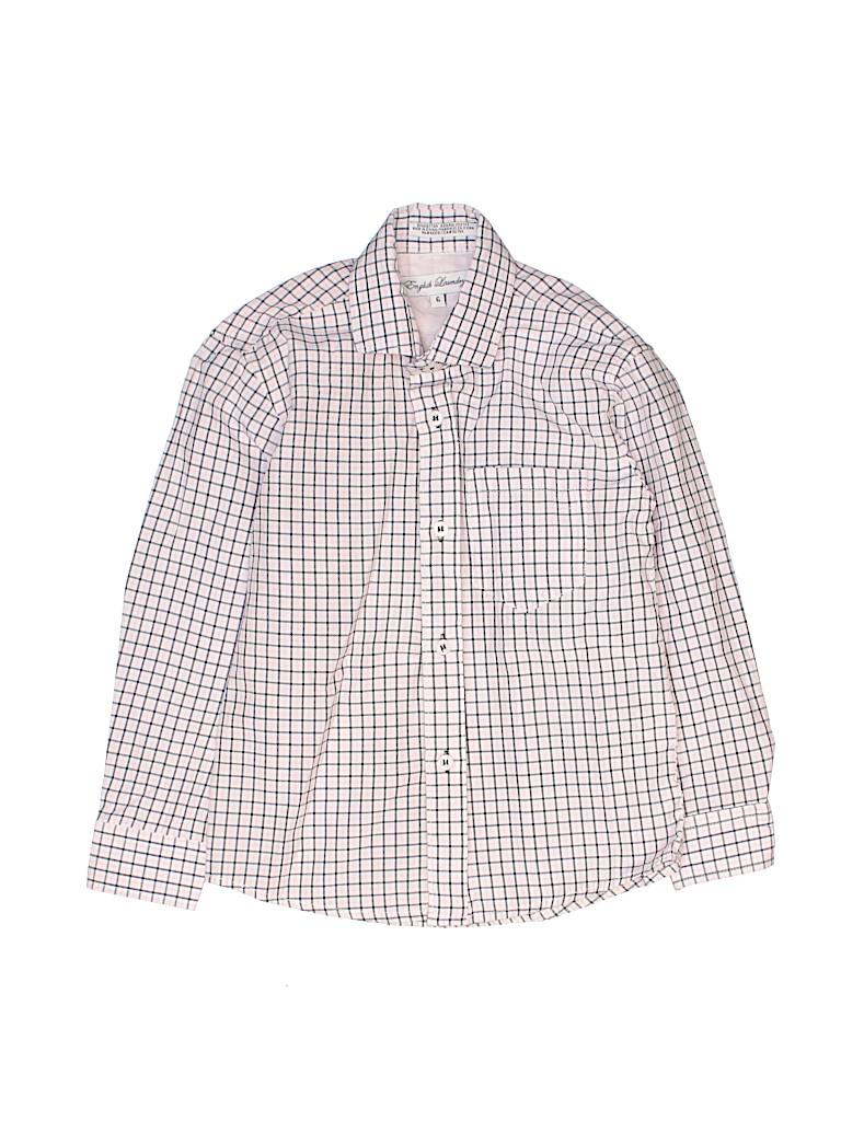 English Laundry Boys Long Sleeve Button-Down Shirt Size 6