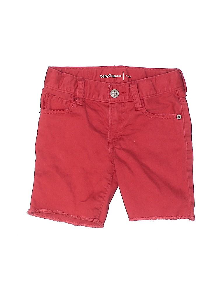 Baby Gap Girls Denim Shorts Size 3T