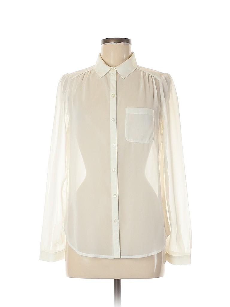 Frenchi Women Long Sleeve Blouse Size M