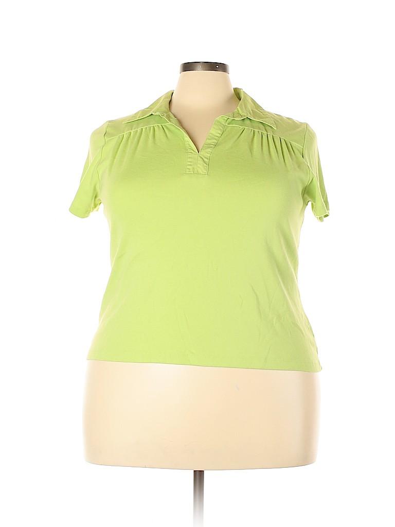 Cato Women Short Sleeve Polo Size 22 - 24 (Plus)