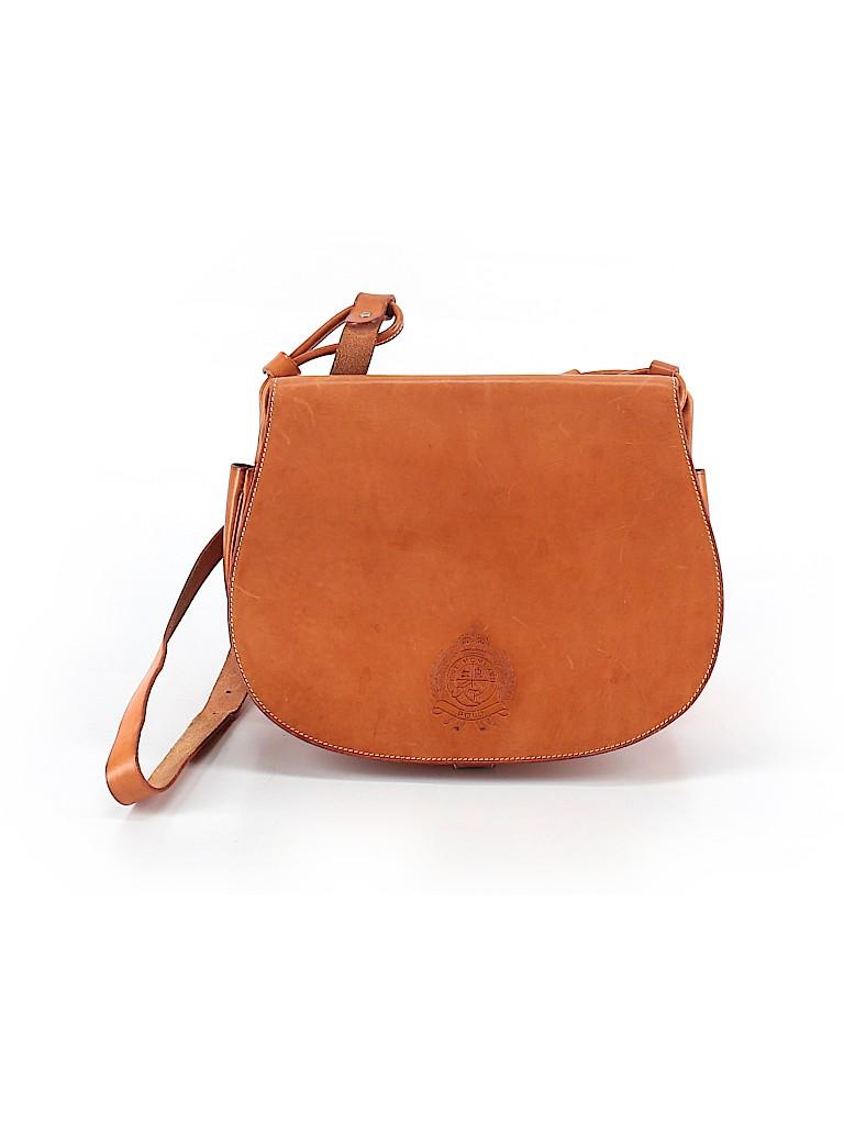 Ralph Lauren Women Leather Crossbody Bag One Size