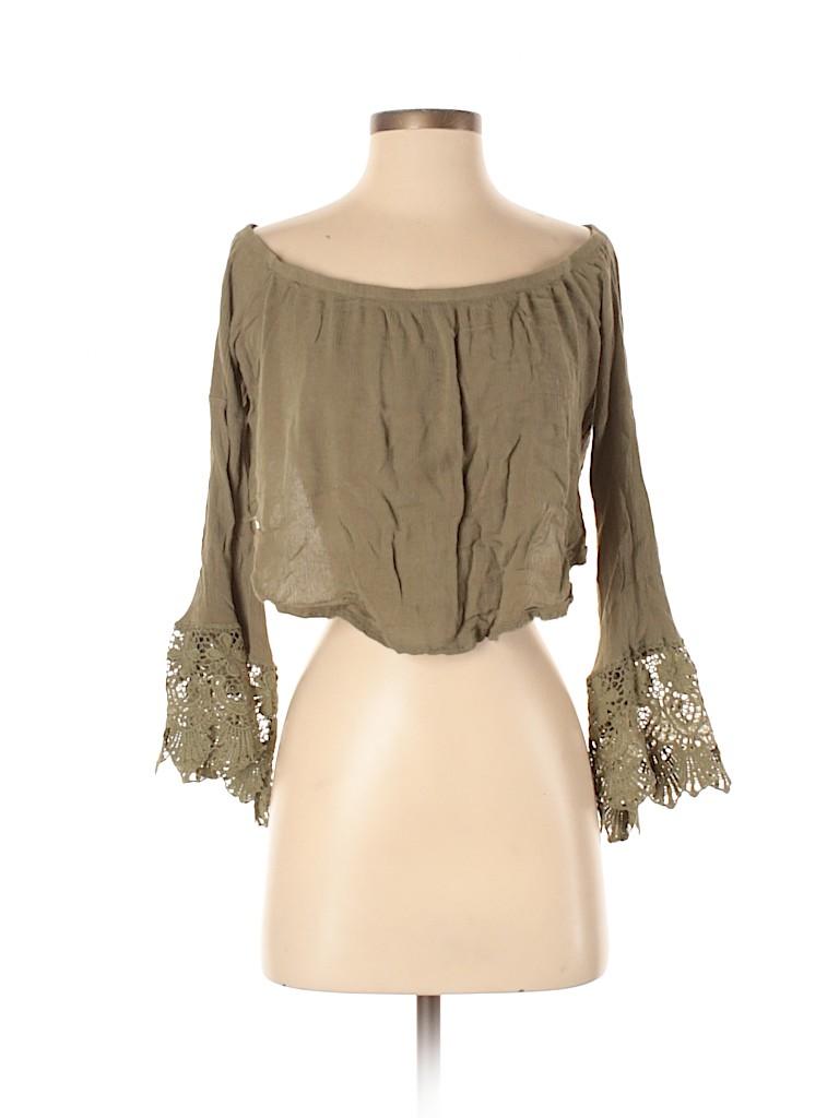 Love Culture Women Long Sleeve Blouse Size S