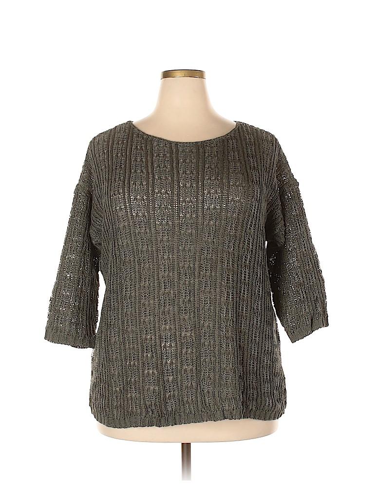 Eileen Fisher Women Pullover Sweater Size 1X (Plus)
