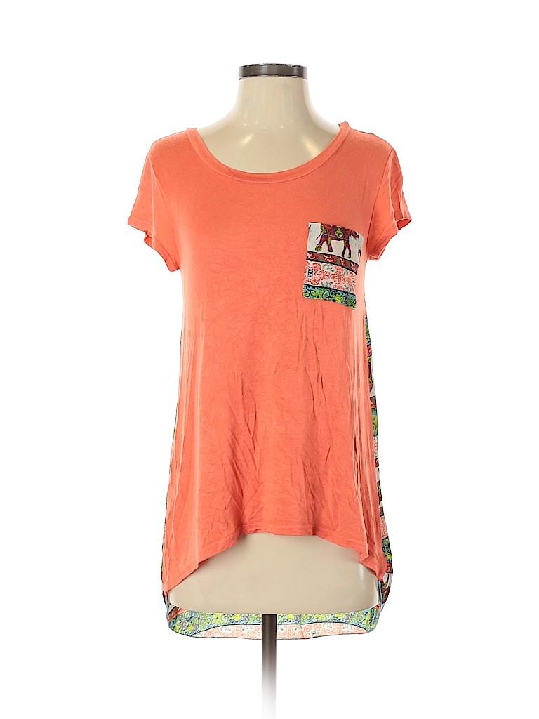 Rue21 Women Short Sleeve Top Size S