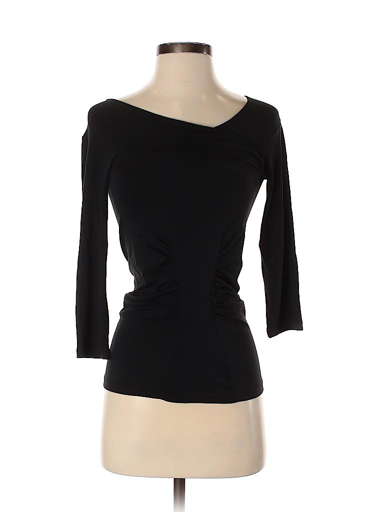Max Mara Women 3/4 Sleeve Top Size S