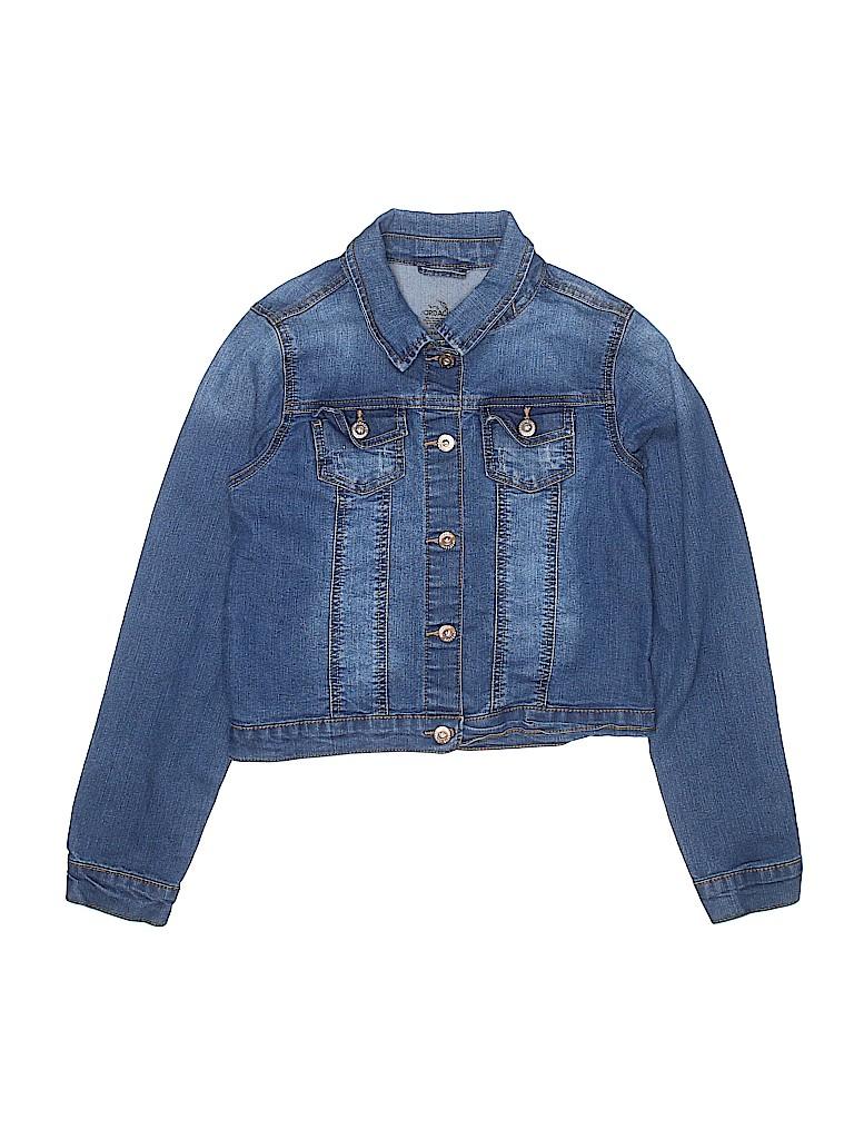 Jordache Girls Denim Jacket Size 14 - 16