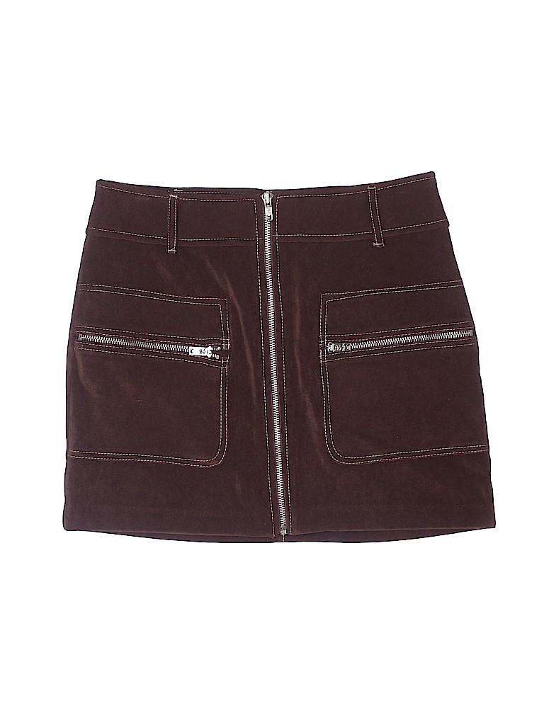 XOXO Women Faux Leather Skirt Size 1