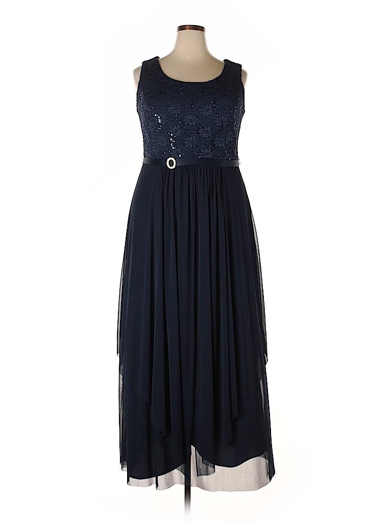 R&M Richards Women Cocktail Dress Size 18 (Plus)