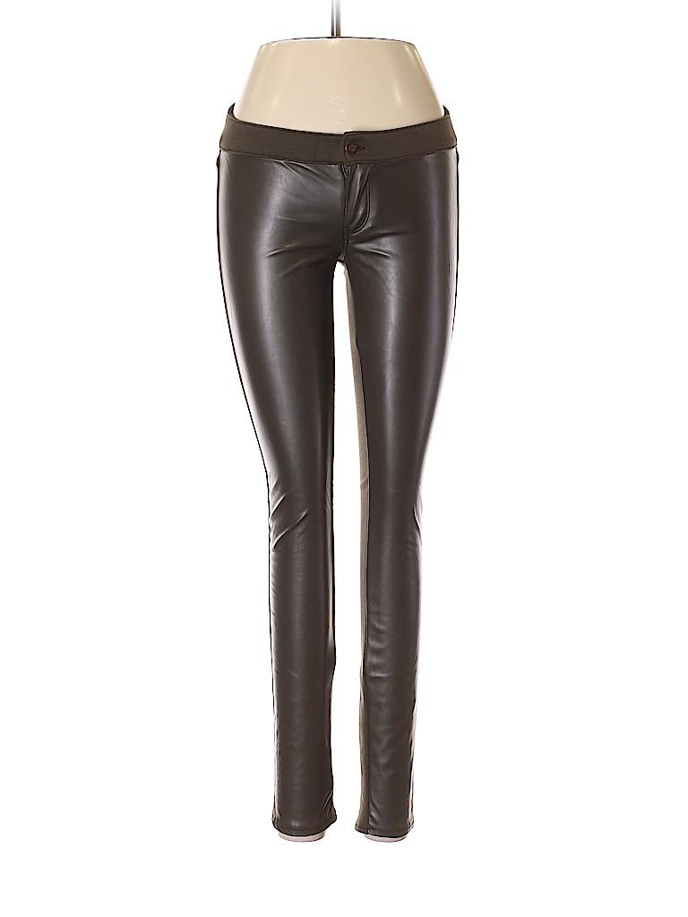 Hollister Women Faux Leather Pants Size 1
