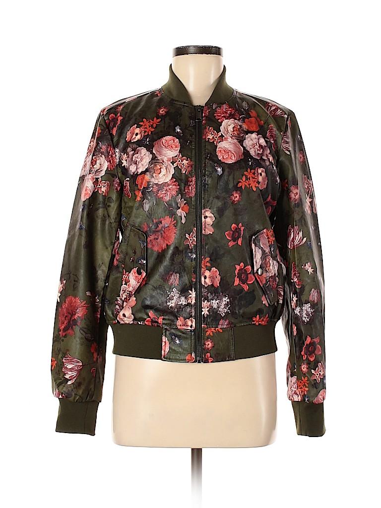 Kate & Mallory designs Women Faux Leather Jacket Size M