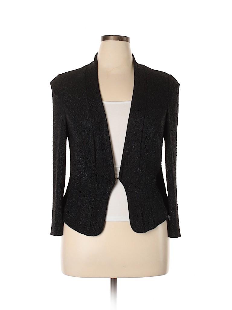 City Chic Women Blazer Size 14 Plus (XS) (Plus)