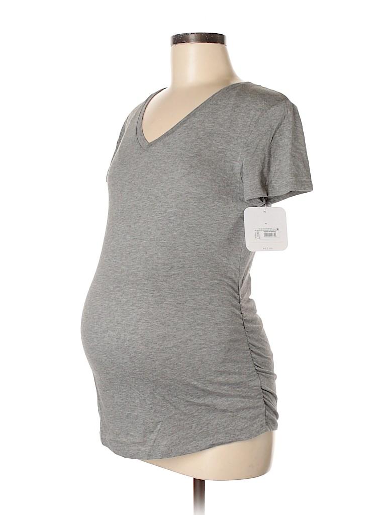 Isabel Maternity Women Short Sleeve Top Size S (Maternity)