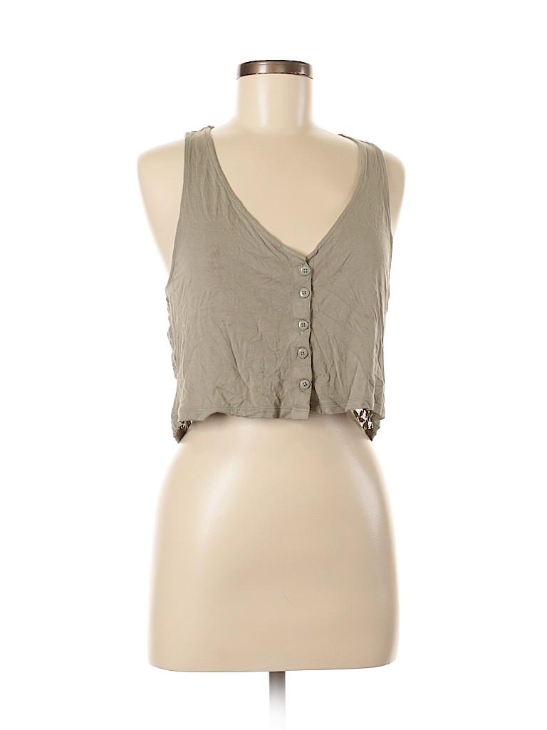 Frenchi Women Sleeveless Top Size M