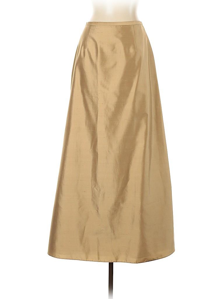 Kay Unger Women Silk Skirt Size 10