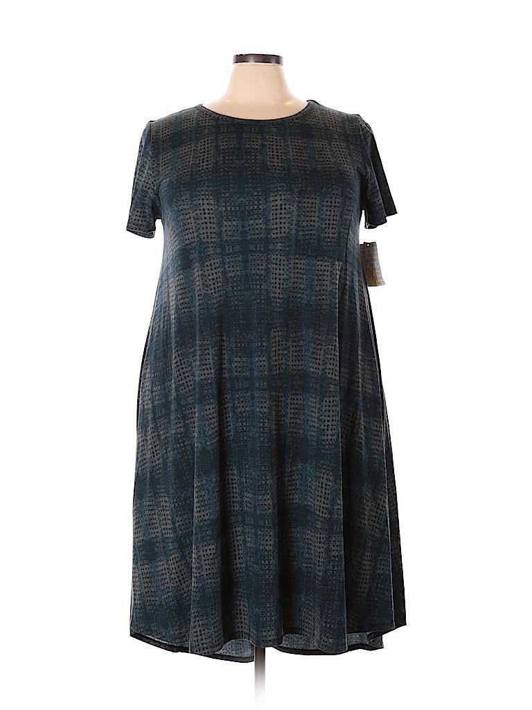 Lularoe Women Casual Dress Size 3X (Plus)