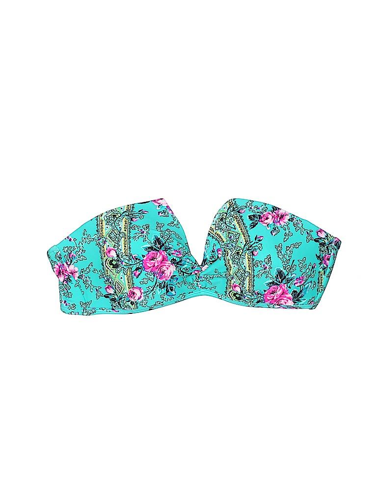 Betsey Johnson Women Swimsuit Top Size L