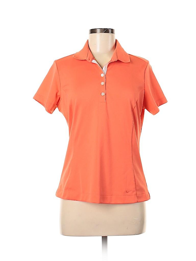 Nike Women Short Sleeve Polo Size M