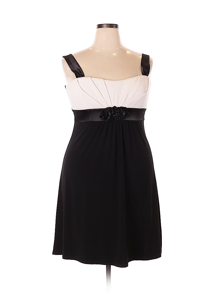 Taboo Women Cocktail Dress Size 1X (Plus)