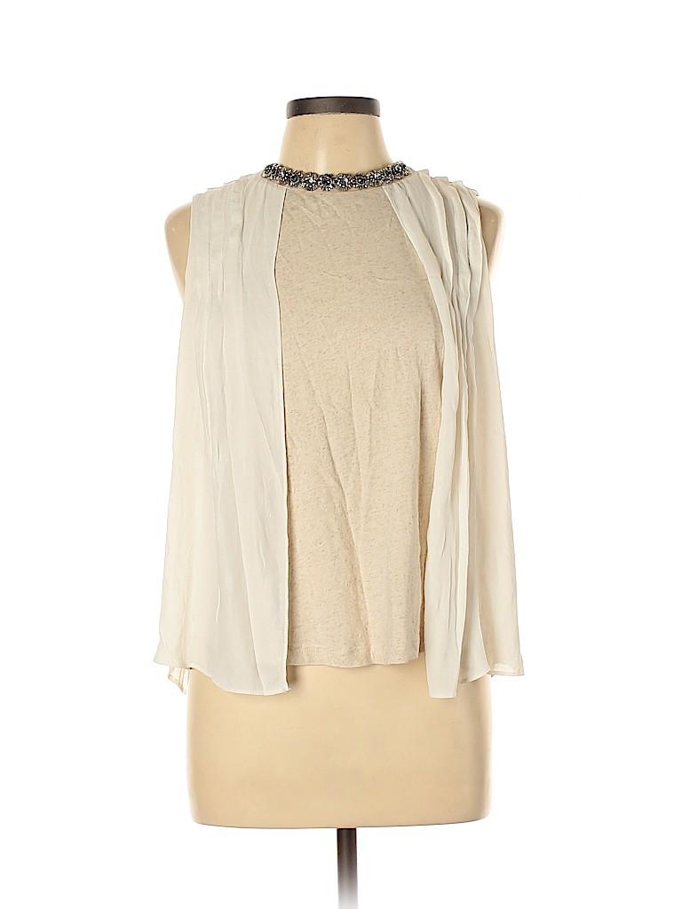 Zara Basic Women Sleeveless Blouse Size L