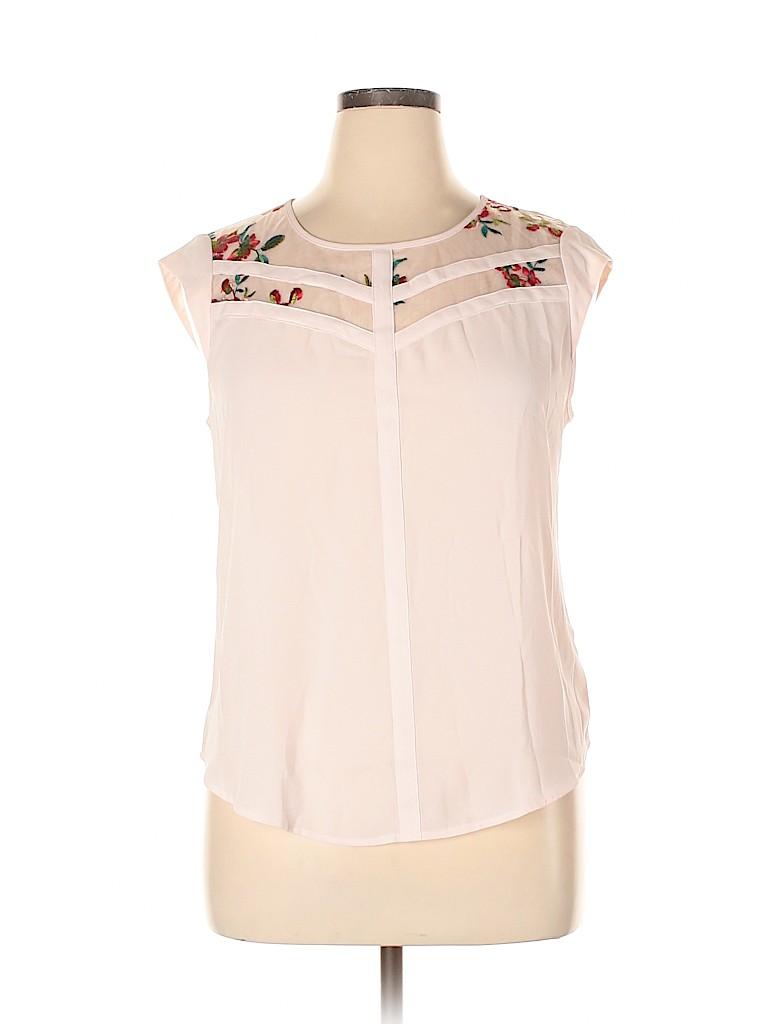 Candie's Women Short Sleeve Blouse Size XL