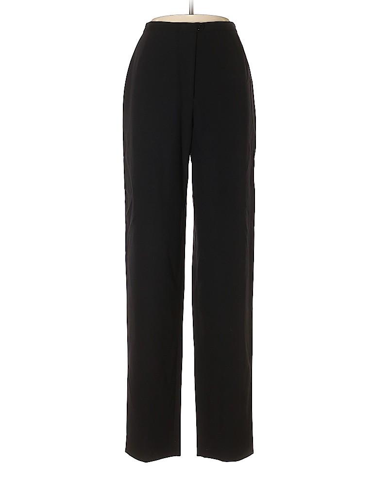 Giorgio Armani Classico Women Wool Pants Size 44 (EU)