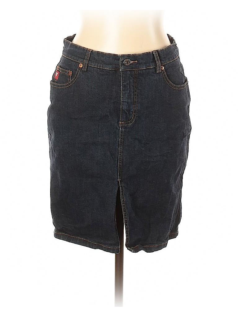 Guess Jeans Women Denim Skirt 31 Waist