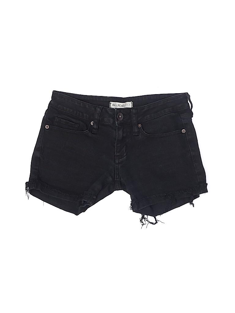Bullhead Black Women Denim Shorts Size 00