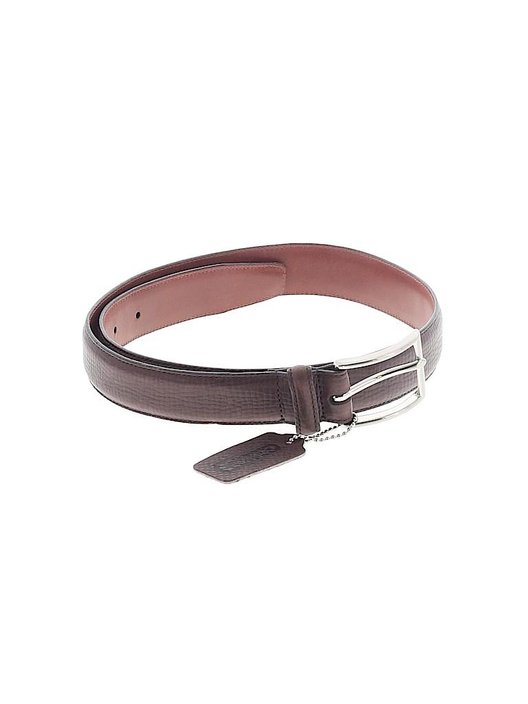 Coach Women Leather Belt Size S