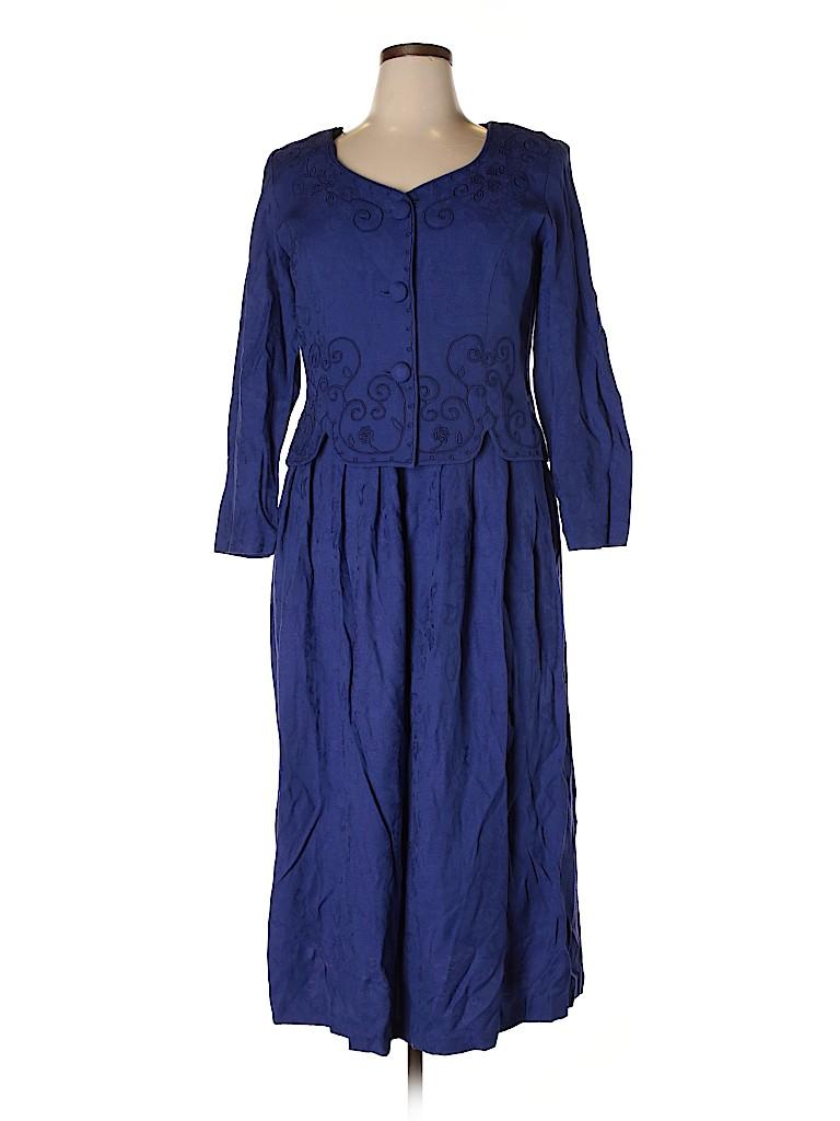 Karin Stevens Women Casual Dress Size 14