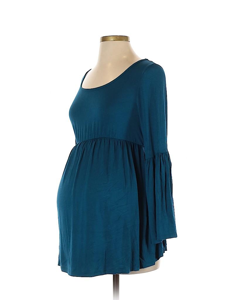 Planet Motherhood Women Long Sleeve Top Size S (Maternity)