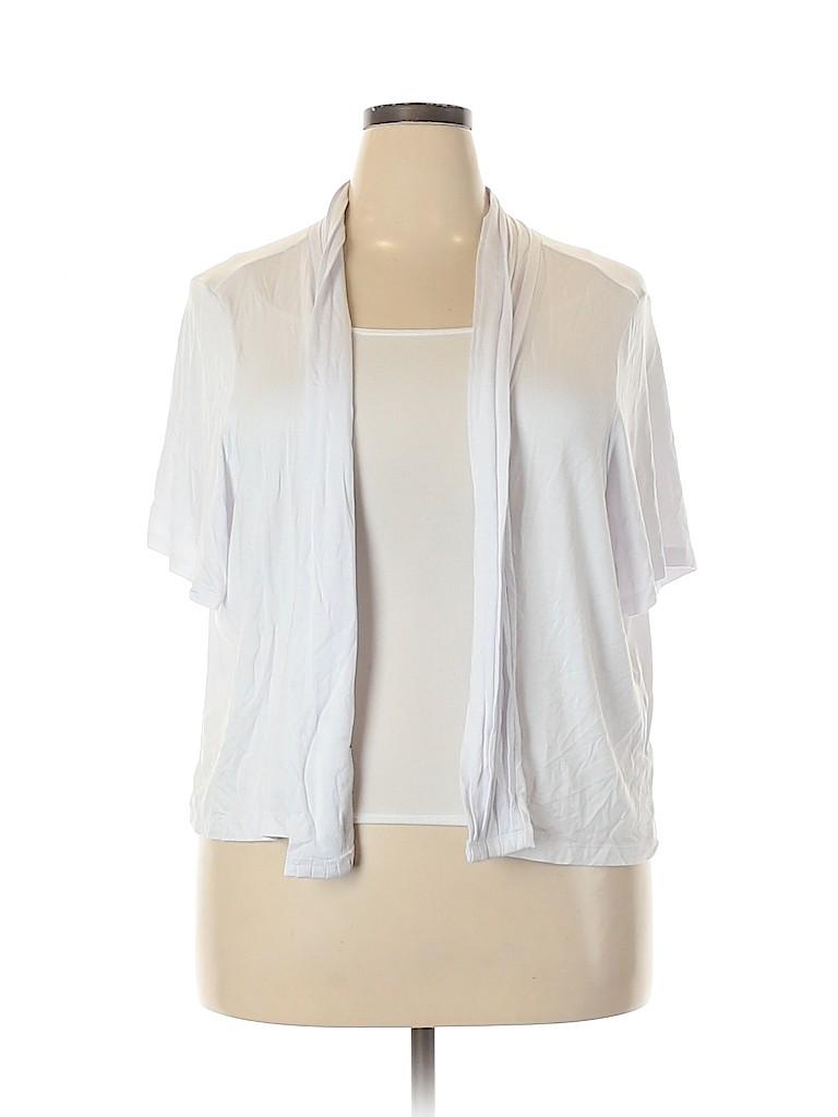 Avenue Women Cardigan Size 26 - 28 Plus (Plus)