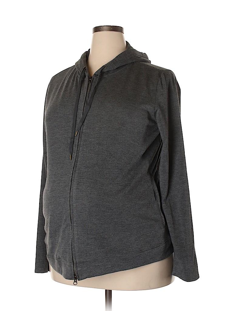 Liz Lange Maternity for Target Women Zip Up Hoodie Size XL (Maternity)
