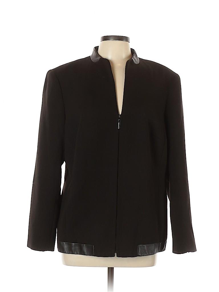 Dana Buchman Women Wool Blazer Size 14