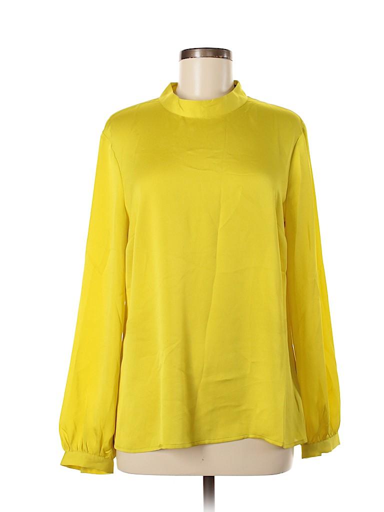 Banana Republic Women Long Sleeve Blouse Size M