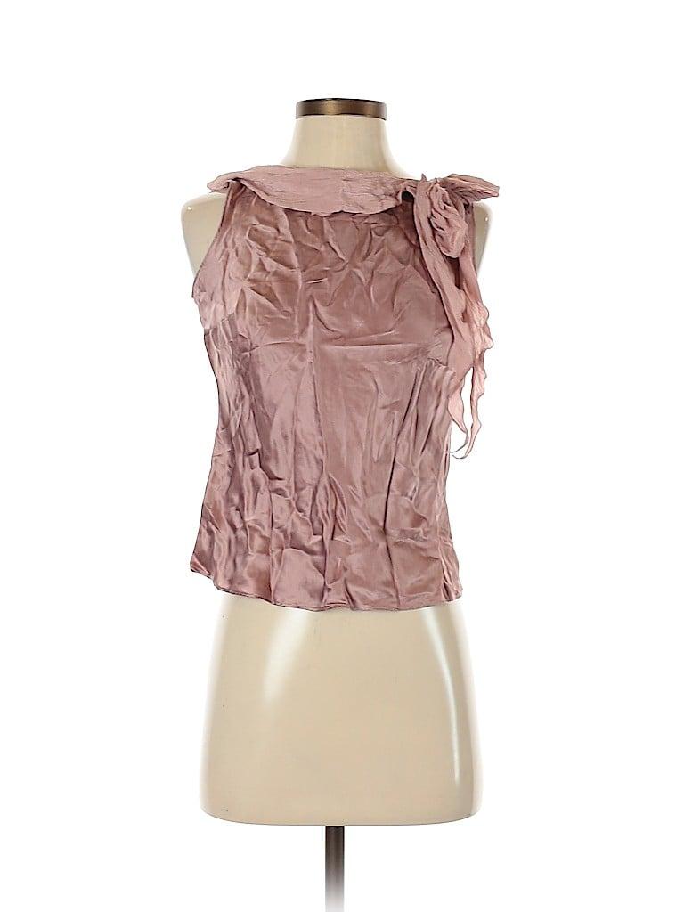 Ann Taylor LOFT Women Sleeveless Silk Top Size 0