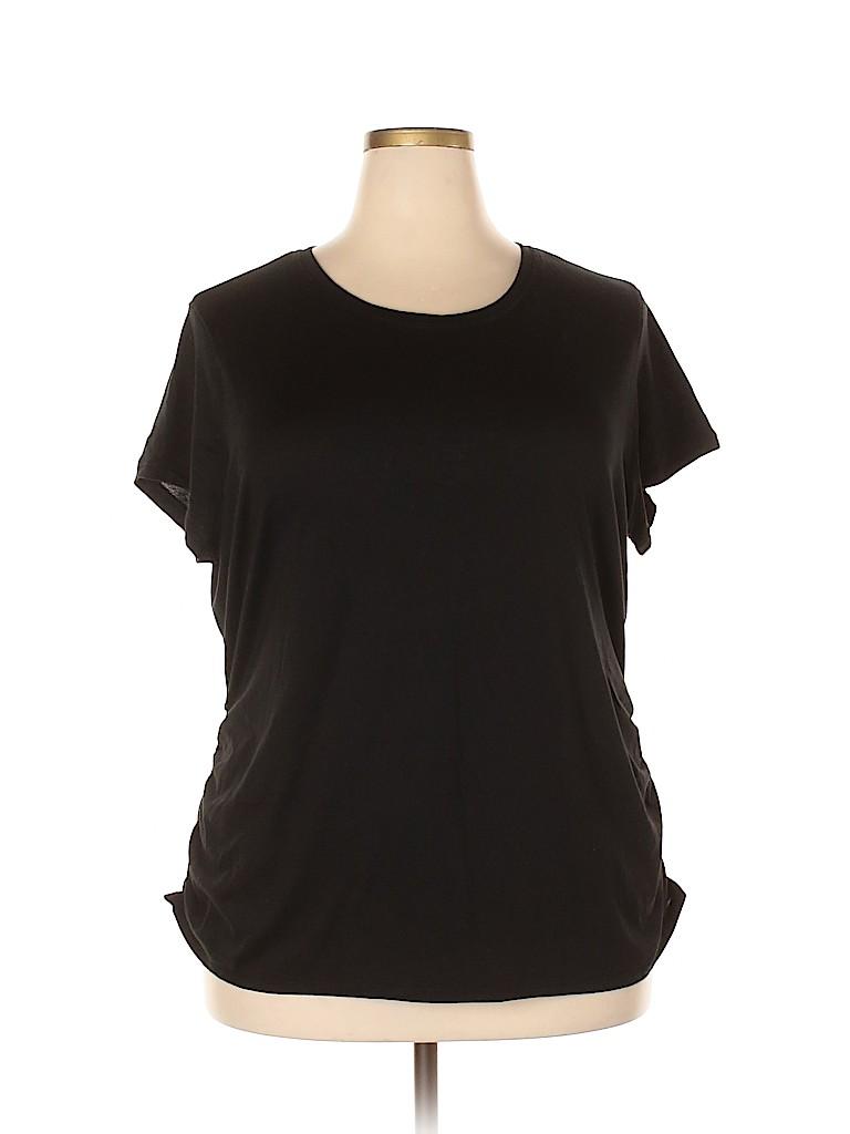 Athletic Works Women Active T-Shirt Size 22 (Plus)