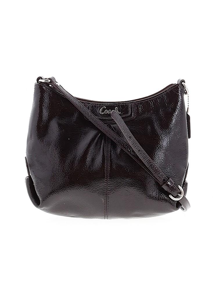 Coach Women Leather Crossbody Bag One Size