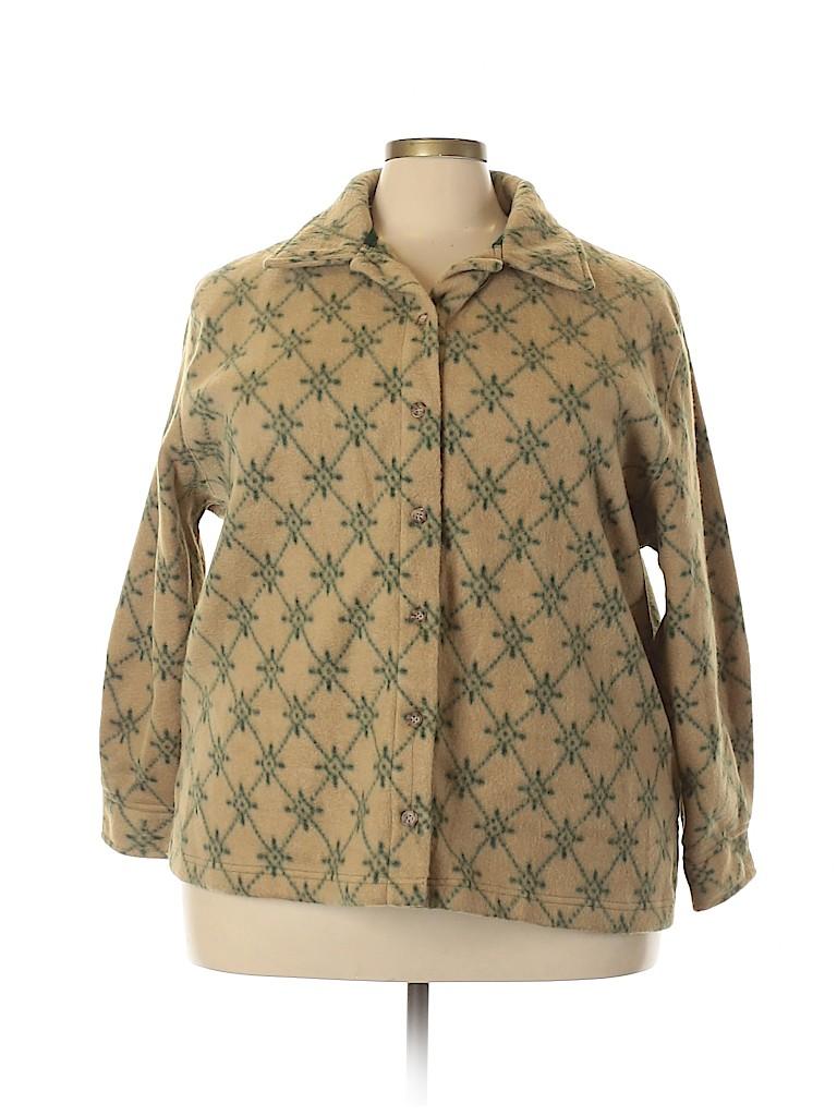 Assorted Brands Women Jacket Size 2X (Plus)