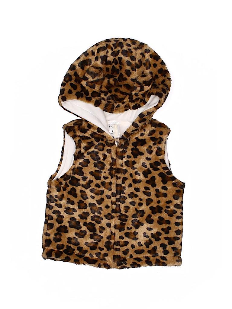 Carter's Girls Faux Fur Vest Size 6-9 mo