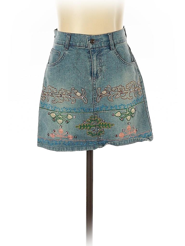 Assorted Brands Women Denim Skirt Size 1