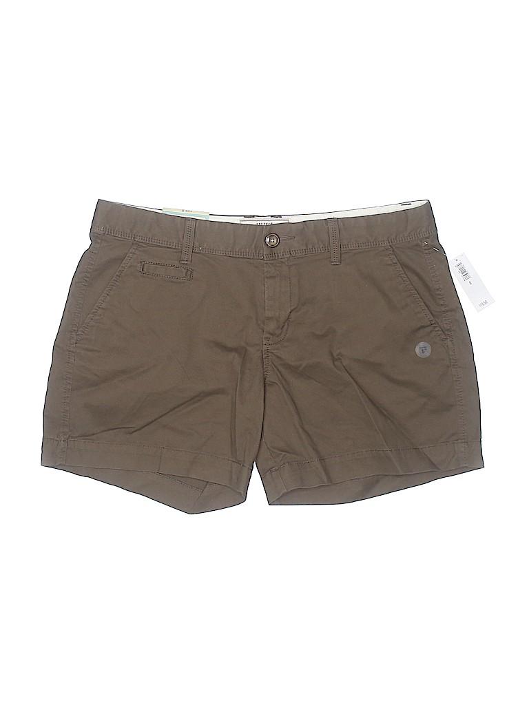Old Navy Women Khaki Shorts Size 8
