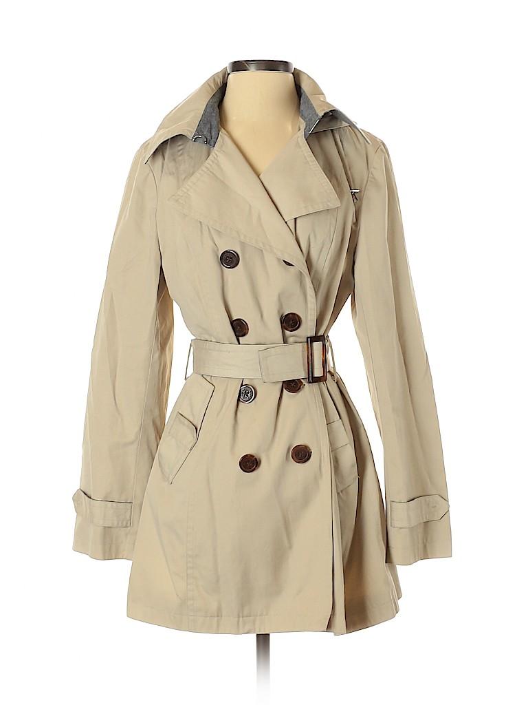 MICHAEL Michael Kors Women Trenchcoat Size M