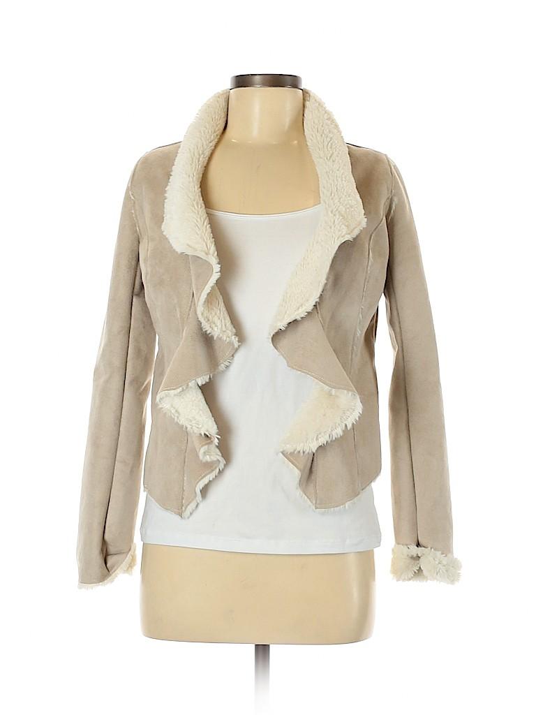 American Rag Cie Women Faux Fur Jacket Size XS
