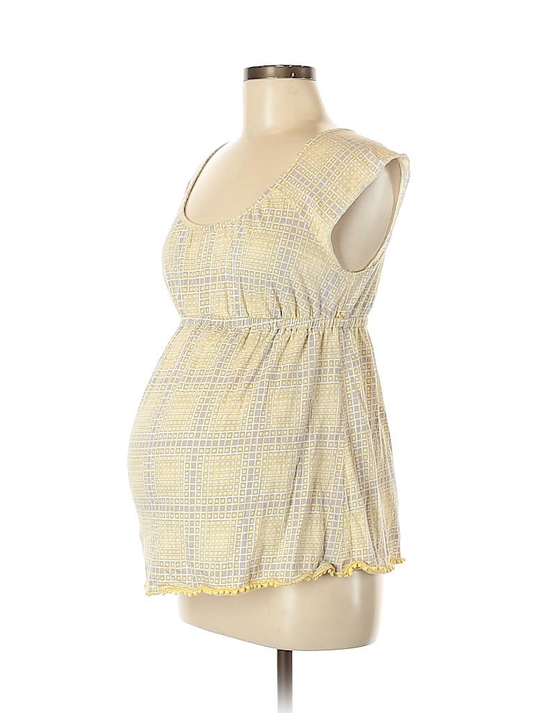 Liz Lange Maternity for Target Women Short Sleeve Top Size M (Maternity)
