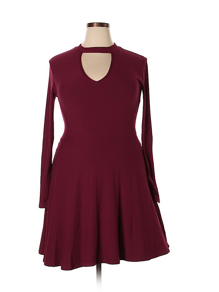 No Boundaries Women Casual Dress Size 15 - 17