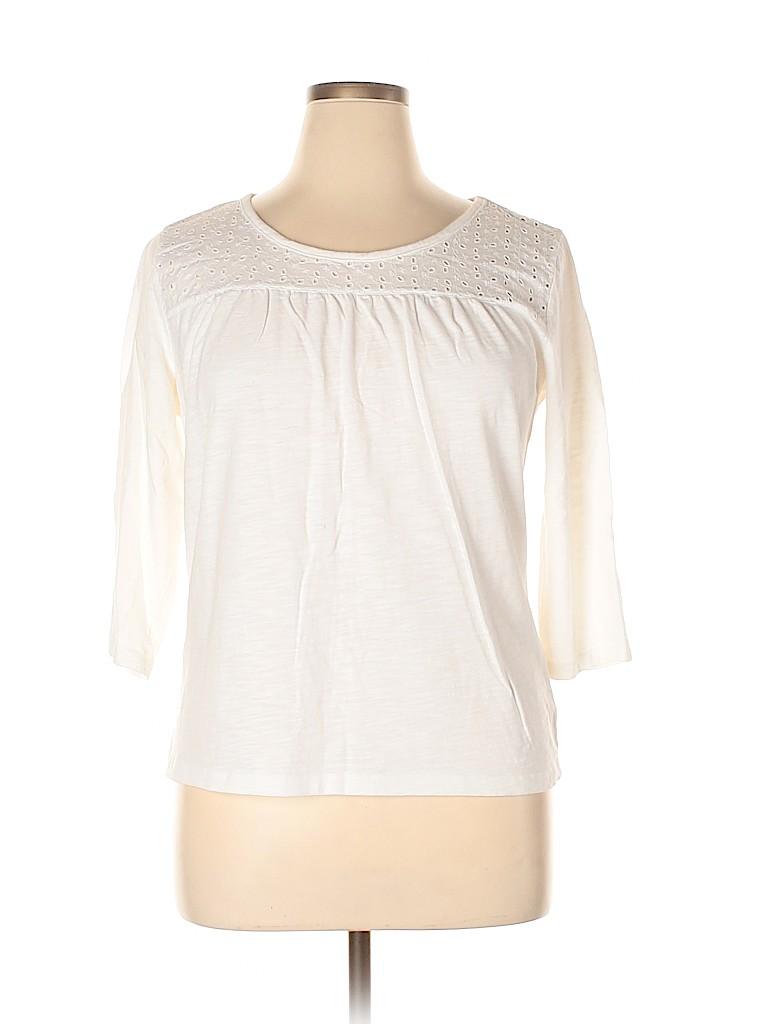 St. John's Bay Women 3/4 Sleeve Top Size XL