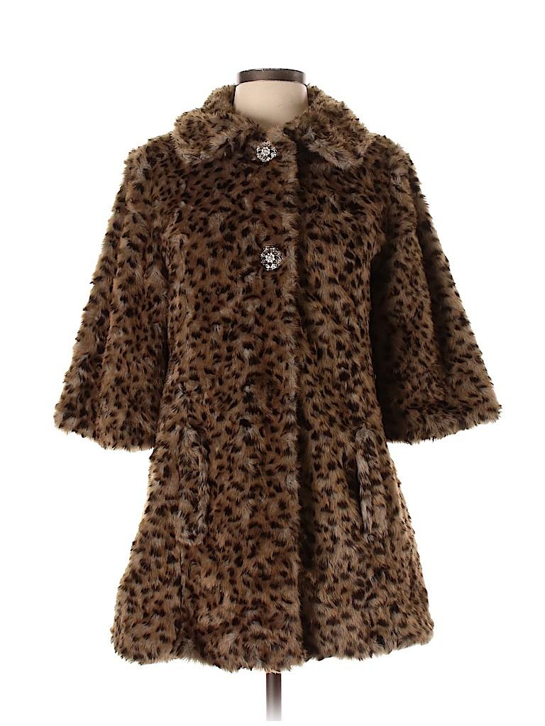Daytrip Women Faux Fur Jacket Size S