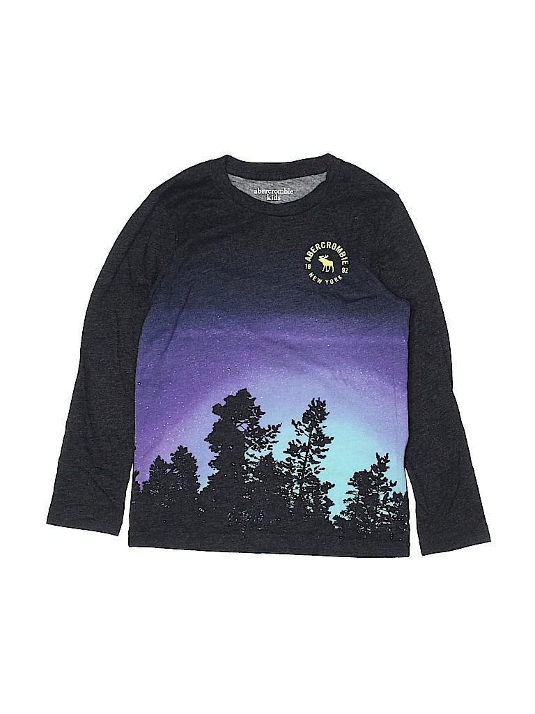 Abercrombie Girls Long Sleeve T-Shirt Size 7 - 8